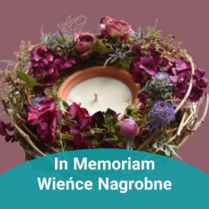 In Memoriam, wieńce nagrobne
