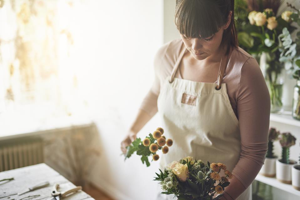florysta śłubny